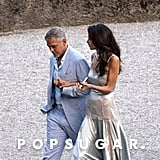 George and Amal Clooney in Italy July 2016 Pictures