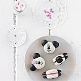 Minnie and Mickey Macarons