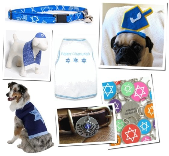 Hanukkah-Themed Pet Clothing and Collars