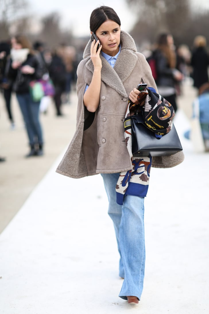 Pfw Street Style Day Eight Best Street Style At Paris Fashion Week Fall 2014 Popsugar