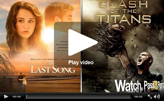 Video Movie Reviews for The Last Song and Clash of the Titans