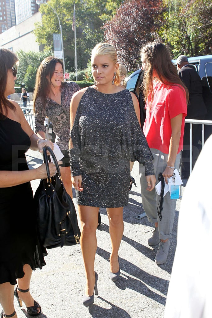 Pictures of Jessica Simpson at FW