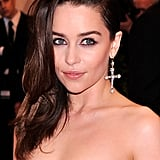 Emilia Clarke at the Met Gala 2013.