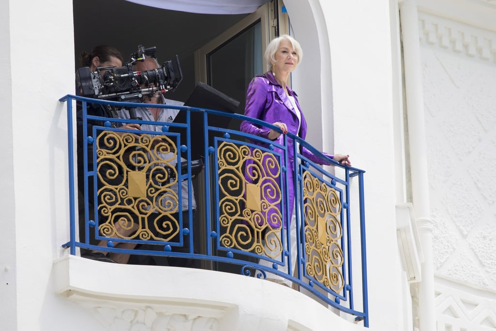 Helen Mirren, epic rapper, jet ski model, and Ryan Reynolds essayist, took her rightful place as queen of the Cannes Film Festival this week. Since touching down on the Riviera, the actress has ruled over her kingdom from a balcony, swanned across the red carpet in a medieval gown, and blown kisses to her loyal subjects. Keep reading to witness her highness at her brightest.      Related:                                                                                                           These Stunning Black and White Cannes Film Festival Photos Look Like an Ad Campaign