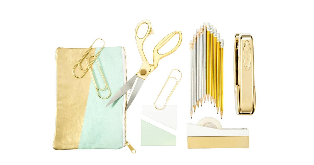 Metallic Accent Pencil Pouch ($9); 9.5\