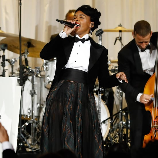 Janelle Monaé Singing at Ralph Lauren NYFW Show Video 2019