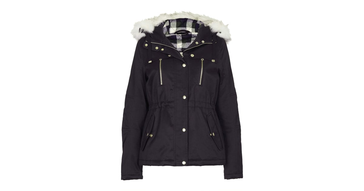 Topshop Short Padded Parka Jacket ($136) | Winter Coats Under $150 ...