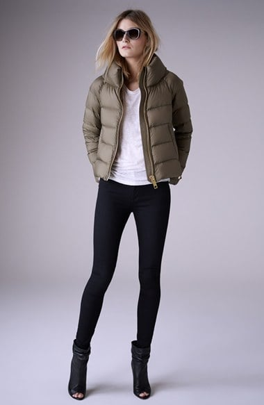 """Burberry Brit """"Townfield"""" Short Goose Down Jacket ($895)"""