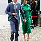 Meghan Markle at Commonwealth Day 2020