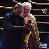 Pictured: Samuel L. Jackson and Glenn Close