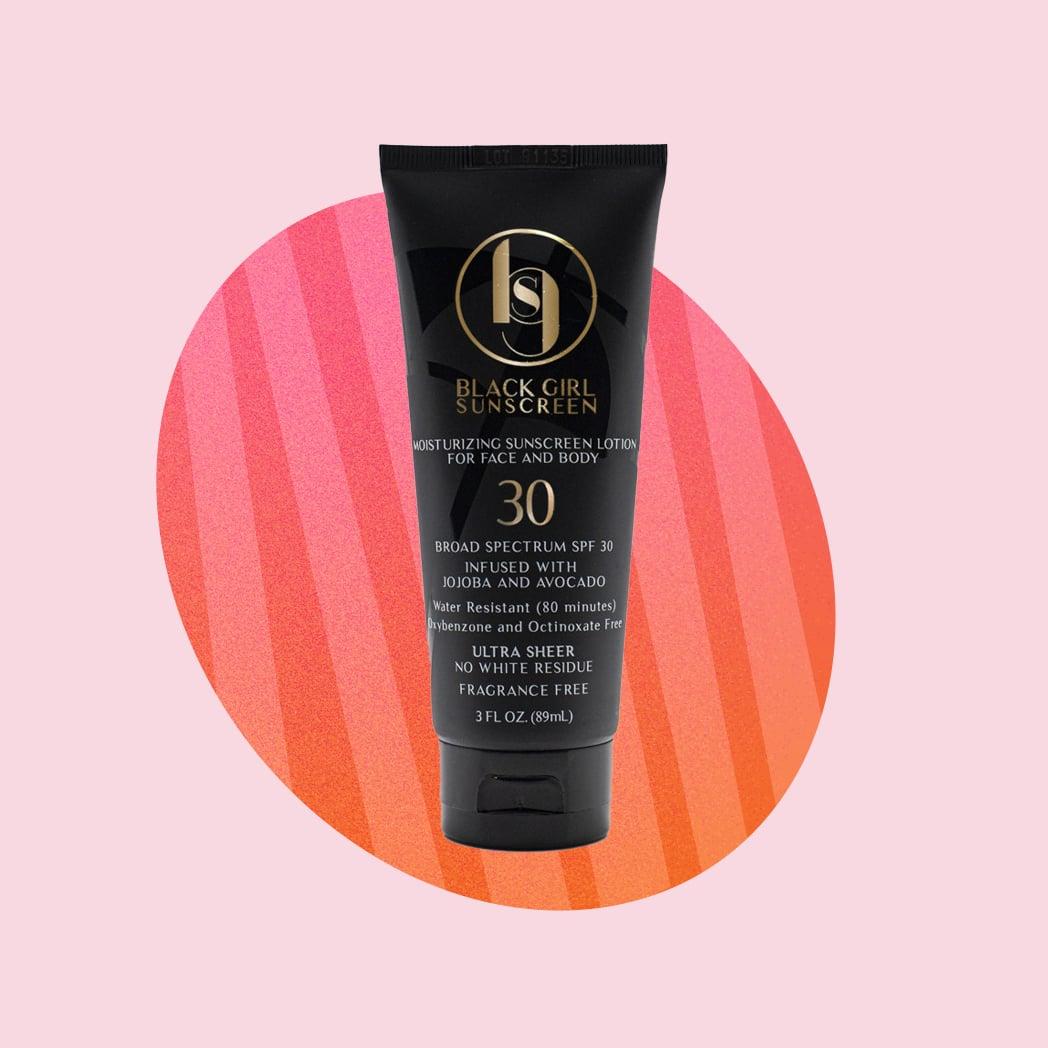 Black Girl Sunscreen Moisturizing Sunscreen Lotion SPF 30
