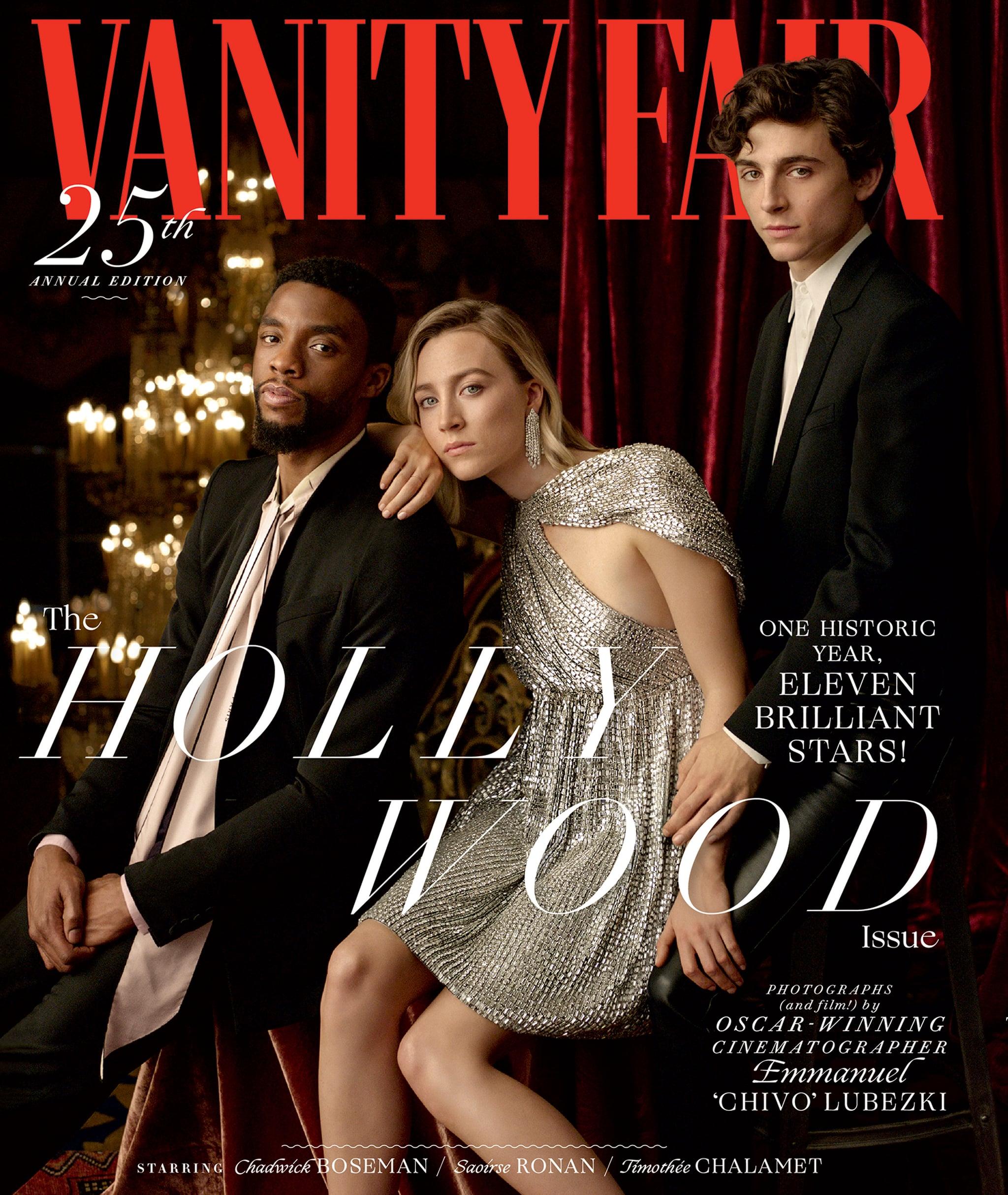 Vanity Fair Hollywood Issue Cover 2019 Popsugar Celebrity