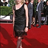 Wearing a Tulle LBD in May 2000