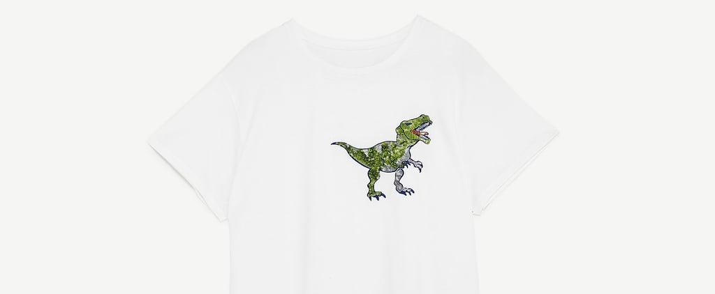 Paging Ross Geller: Zara Made a Dinosaur T-Shirt and It Will Bring You Endless Joy