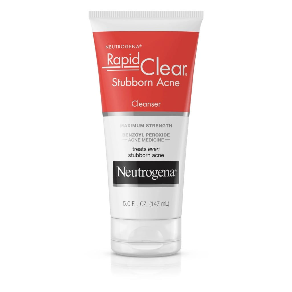 Benzoyl Peroxide Cleanser: Neutrogena Rapid Clear Stubborn Daily Acne Facial Cleanser