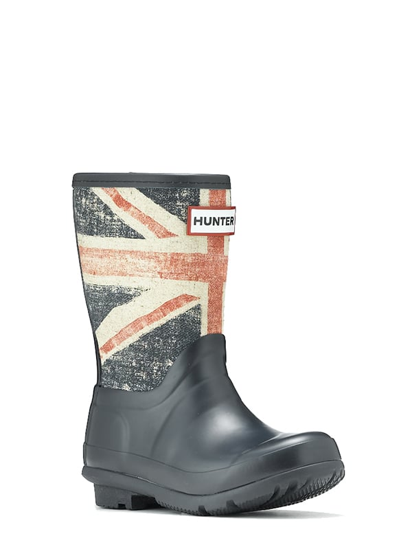 The perfect accessory for April's showers, Hunter's Original British Boot ($67, originally $95) features a vintage Union Jack flag and looks great on boys and girls.