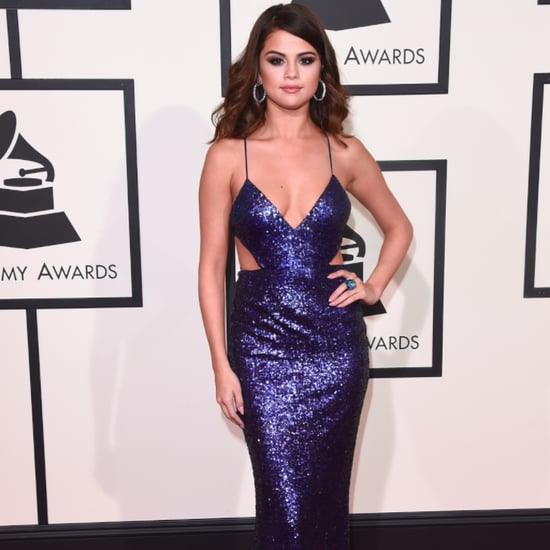 Selena Gomez on the Red Carpet at the Grammys 2016
