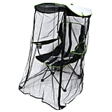 Snag your very own foldable SwimWays Kelsyus Original Canopy Chair with Bug Guard ($63) to keep bugs away for good.
