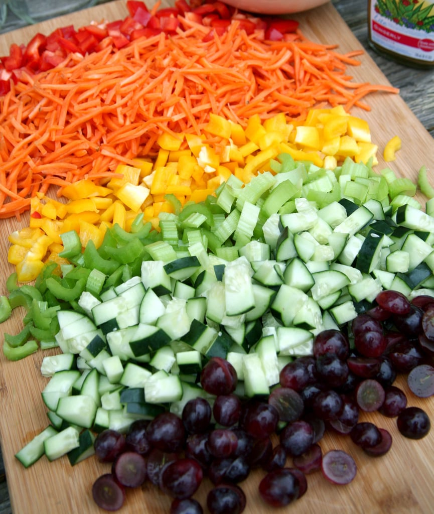 Cut Up Veggies For Salads