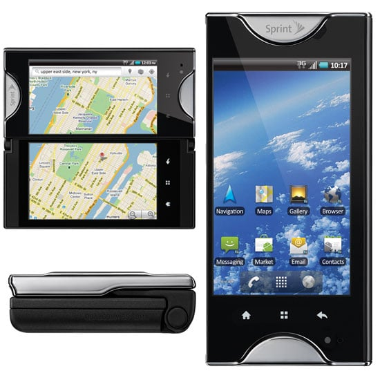 Pictures of the Kyocera Echo From Sprint