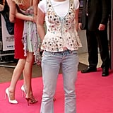 In 2005, Emma went the casual route for the UK premiere of Wedding Crashers.