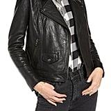 Treasure & Bond Leather Biker Jacket