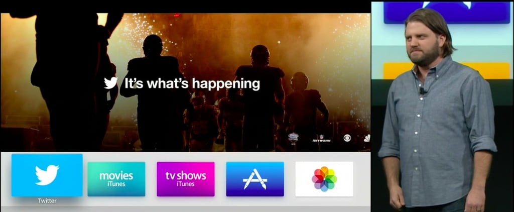 Apple TV New Twitter Feature