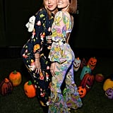Charlotte Dawes and Zoey Deutch's '70s-Inspired Halloween Costumes