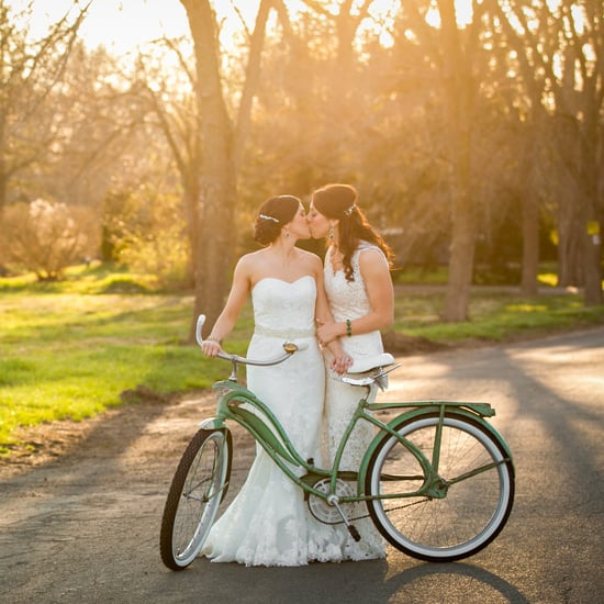 Rustic Bike-Themed Wedding
