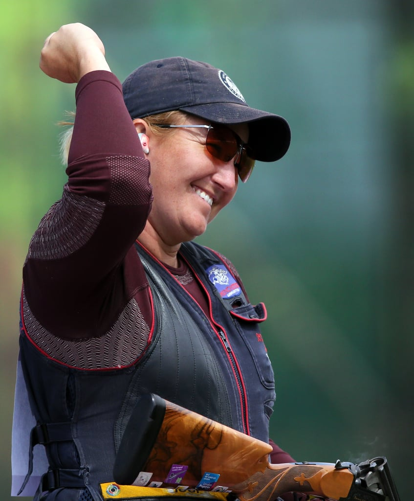 You know about Michael Phelps, but how about Kimberly Rhode? She's the first American with individual medals in five straight Olympics. During the London Games, Kimberly picked up gold in women's skeet shooting.