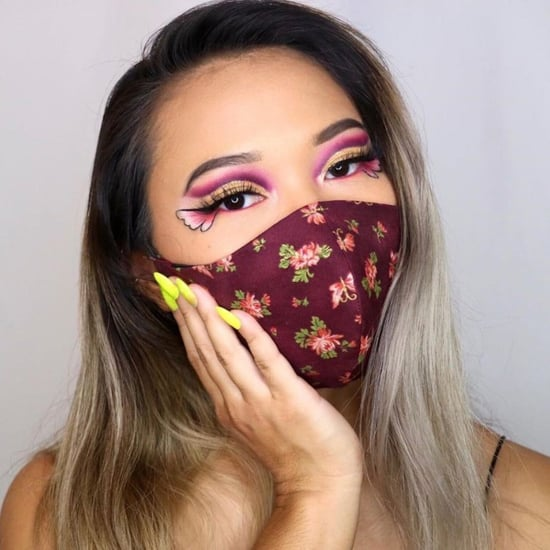 Halloween Makeup Ideas You Can Do With a Face Mask in 2021