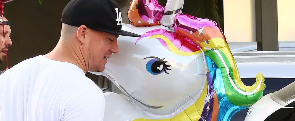 Even Channing Tatum Is on the Trendy Unicorn Train