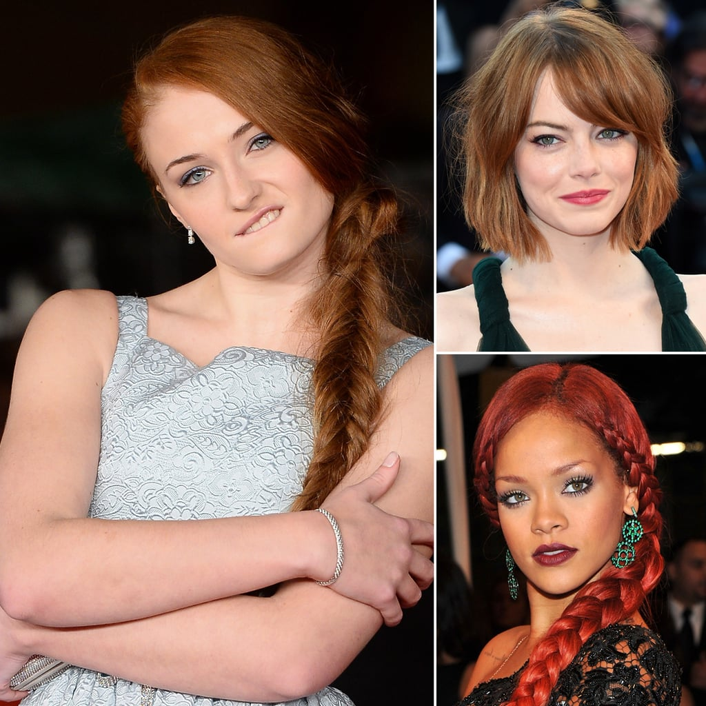 Marsala Hairstyle Inspiration From Your Favourite Celebrity Redheads