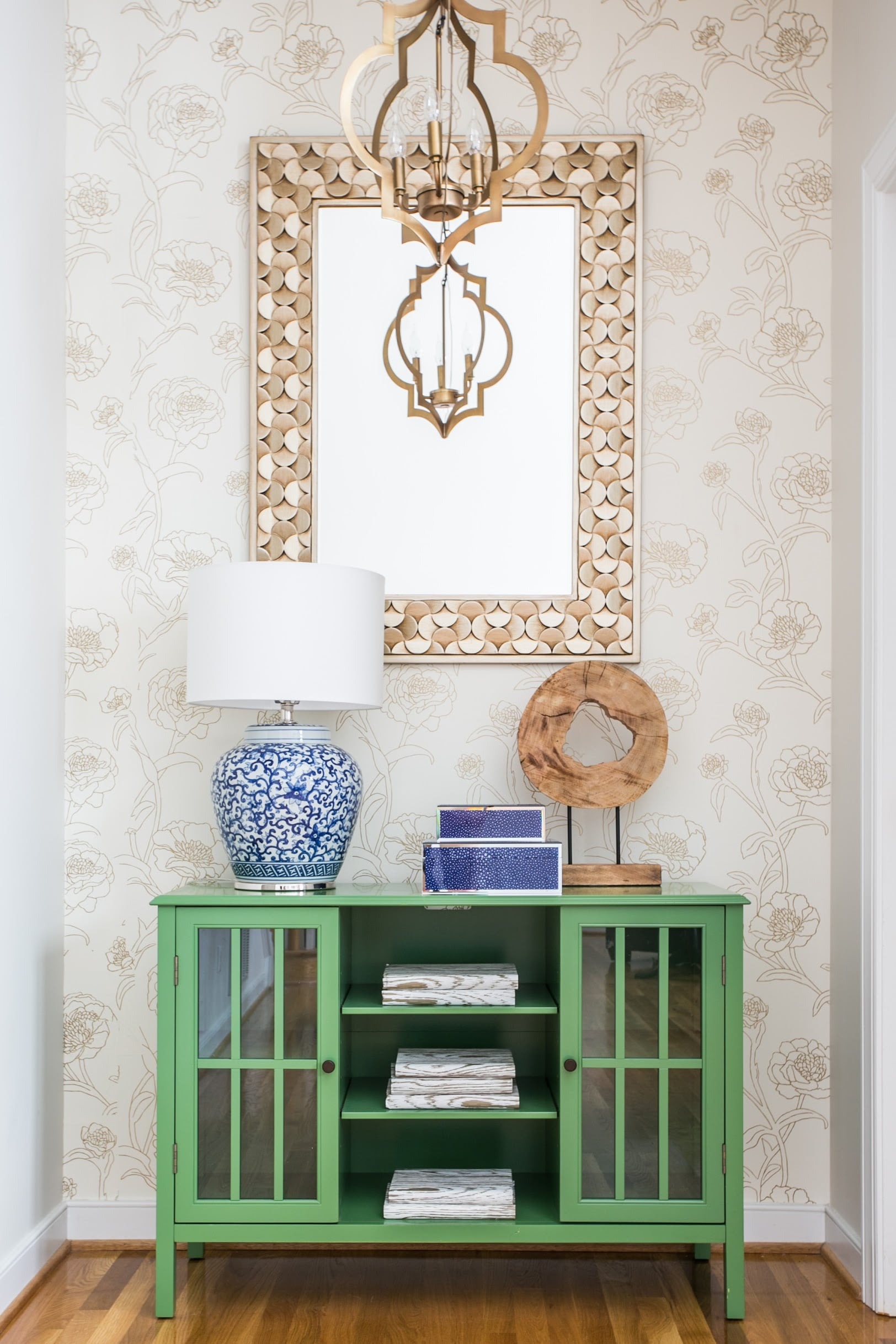 After Floral Entryway