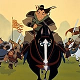 Mulan is based on a legendary Chinese female warrior.