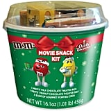 M&M Christmas Popcorn Bucket