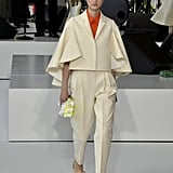 Since Michelle favors Delpozo's whimsical silhouettes, we can see her wearing this caped blazer from the fashion label.