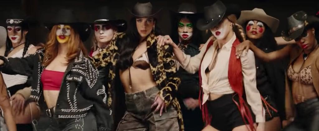 "See Dua Lipa's ""Love Again"" Cowgirl Music Video Outfits"