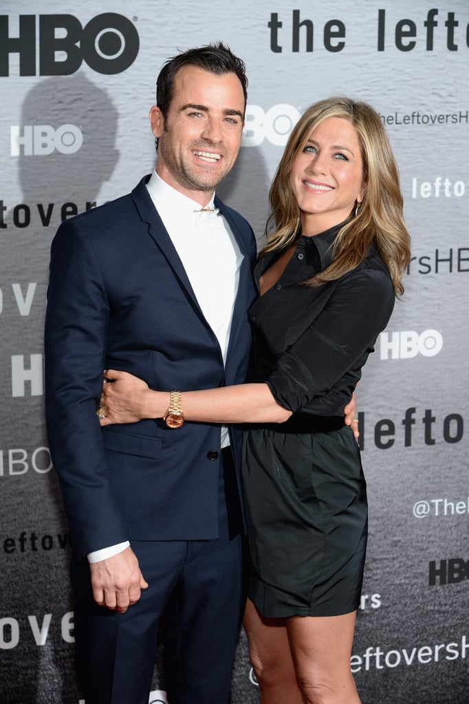 "On what drew her to Justin: ""He's a protector, for sure. He's just a good human being, and so funny."" On the first thought that popped into her head upon seeing him: ""I remember thinking, 'Isn't he hot?'"" On what it's actually like being married to him: ""Married life is so normal and fun and not much different. We felt married for so long. . . . I'm lucky because Justin is the funniest person I've met, and we make each other laugh. Laughter is one of the great keys to staying youthful."""