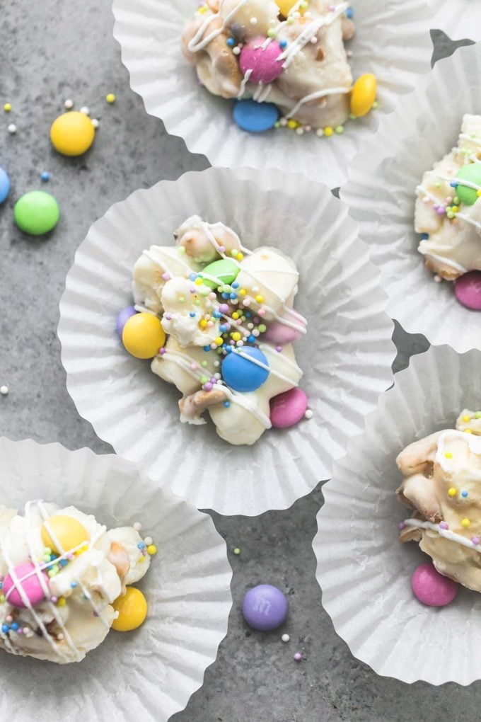 Spring Confetti Crock-Pot Candy