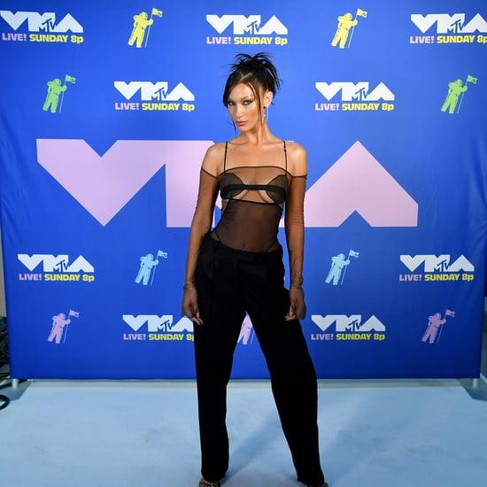 Bella Hadid's '90s Hair and Makeup at 2020 MTV VMAs
