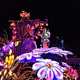 With newer technology, it's amazing what they can do with the electric light parade!