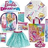 Barbie Dreamtopia Showbag ($26) Includes:  Umbrella  Hair extension  Skirt