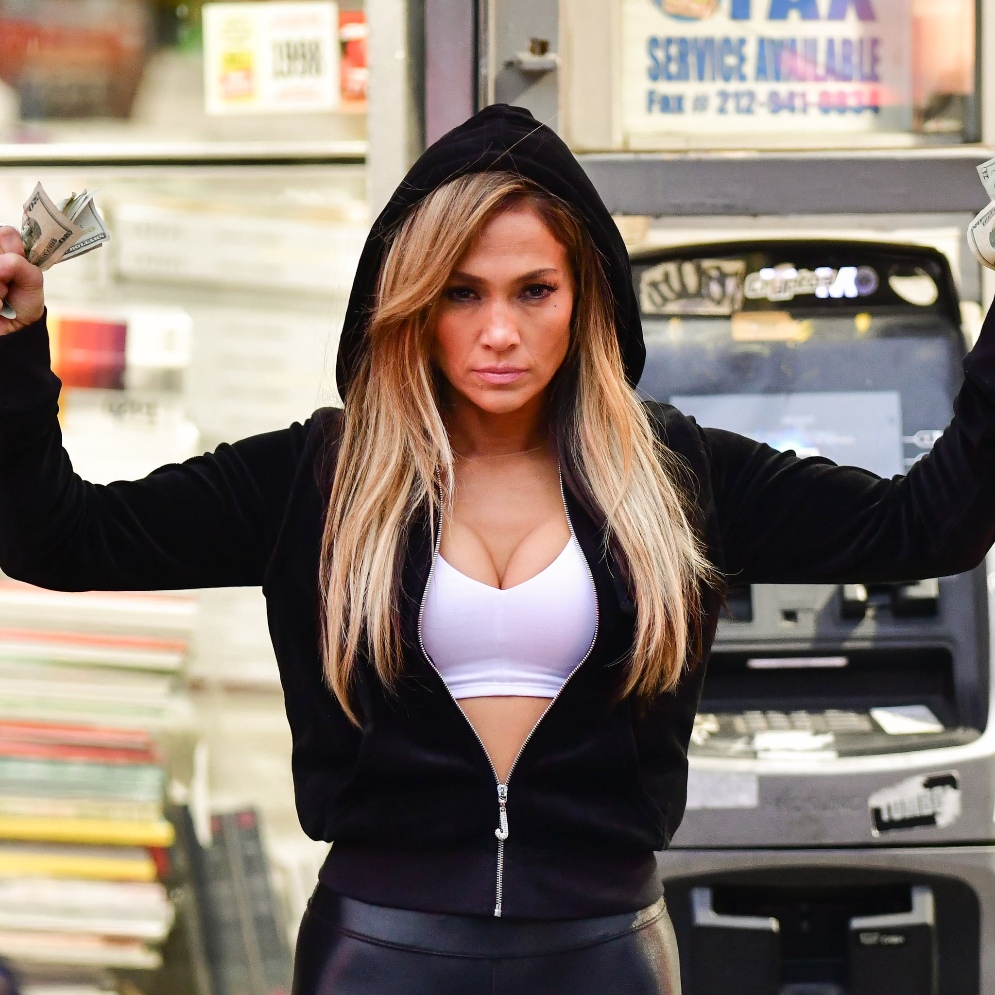 How To Dress Like J Lo S Hustlers Character For Halloween Popsugar Entertainment