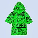 Green Graffiti Hoodie
