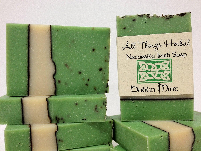Dublin Mint handmade soap ($6)