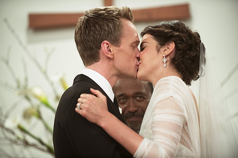 And they kiss to make it official.