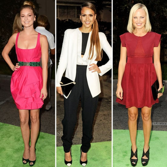 The red carpet was hot with minidresses. Which look was your favorite?