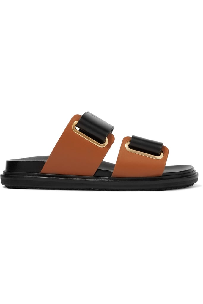 Marni Leather Slides