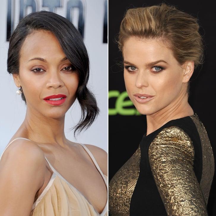 Zoe Saldana vs. Alice Eve: Whose Star Trek Red Carpet Beauty Wins?